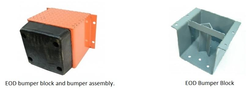 Bumper block and bumper assembly
